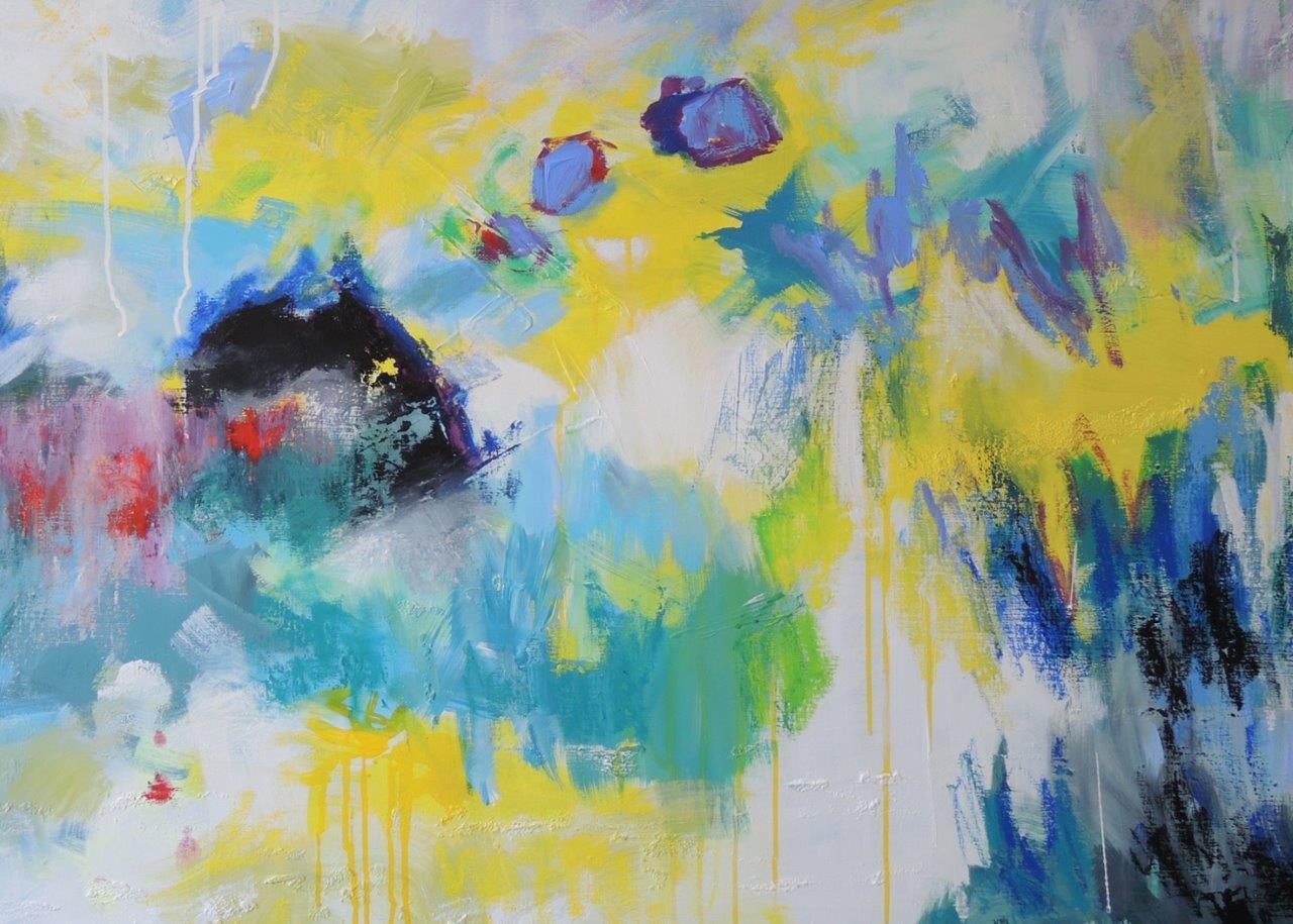 Mary Chaplin Artiste Peintre paysages interieurs -
