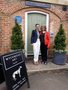 Wychwood Art Gallery Deddington, Oxfordshire. Mary Chaplin et Deborah Allan