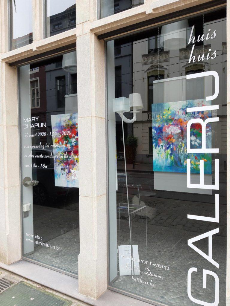 Exposition à la galerie Huis Huis à Gand